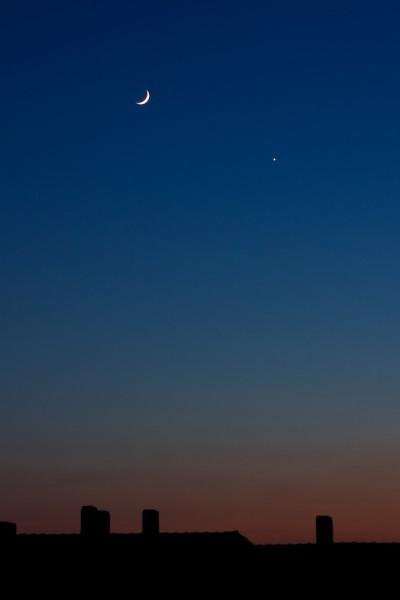 Mond & Venus