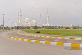 Weg zur Moschee